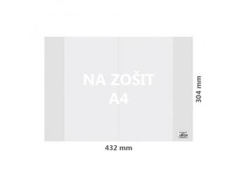 JUNIOR Obal na zošit A4 PP hrubý transparentný 110 mic / 100 ks