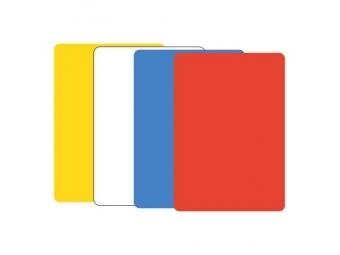 JUNIOR Modelovacia podložka na stôl A5 žltá