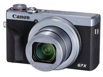 Canon PowerShot G7X Mark III strieborná