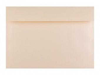 Obálka farebná C6 120g,114x162mm s pásikom,krémová (bal=5ks)