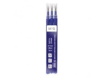 M-G Náplň gumovacia iErase V 0.7 mm/3 ks - modrá