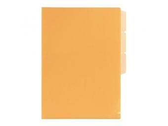 PLUS Obal na dokumenty + 3 x L rozraďovač FL101CH oranžový