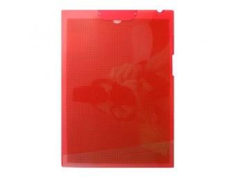 PLUS Podložka na písanie s klipom A4 červená FL - 130CH-E
