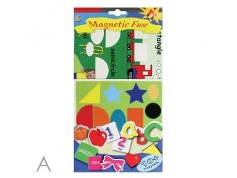 JUNIOR Magnetická hra - Spoznaj tvary, písmená, farby a čísla
