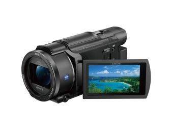 SONY FDR-AX53V Vlogging kit (mikrofón + statív)