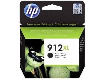 HP No.912XL Atramentová kazeta Black (3YL84AE)