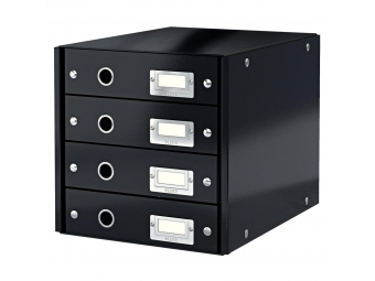 Leitz Zásuvkový box Click&Store,4 zásuvky čierna