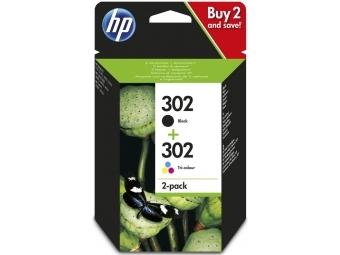 HP No.302 Atramentová kazeta Combopack / Black+Color (X4D37AE)