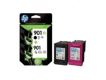 HP No.901XL Atramentová kazeta Combopack / Black+Color (SD519AE)