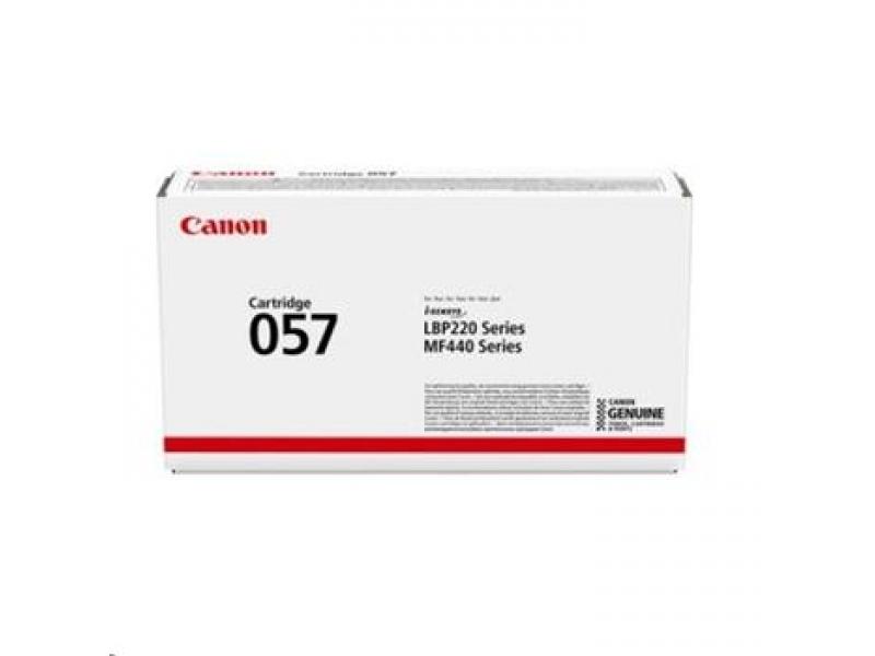Canon 057 Tonerová kazeta Black