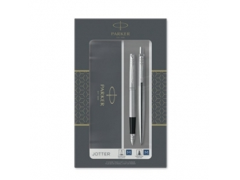 Parker JOTTER STAINLESS STEEL CT gul.pero + pln.pero