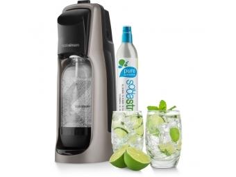 SodaStream JET PREMIUM STEALTH výrobník sódy