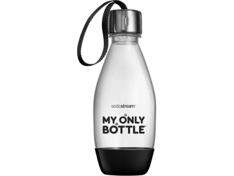 SodaStream fľaša MY ONLY BOTTLE 0,6l čierna