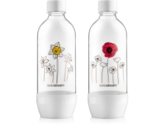 SodaStream fľaša DUO PACK KVETINY 1l
