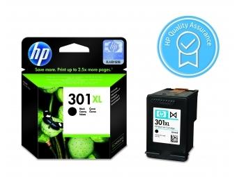 HP No.301XL Atramentová kazeta Black (CH563EE)