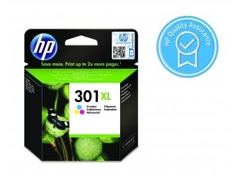 HP No.301XL Atramentová kazeta Color (CH564EE)