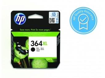 HP No.364XL Atramentová kazeta Black (CN684EE)