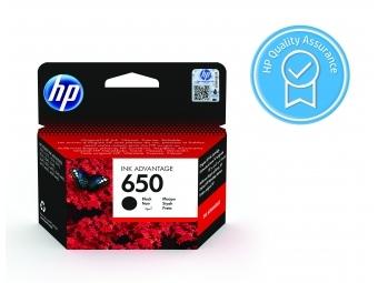 HP No.650 Atramentová kazeta Black (CZ101A), 6,5ml
