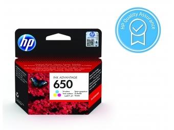 HP No.650 Atramentová kazeta Color (CZ102A), 6,5ml