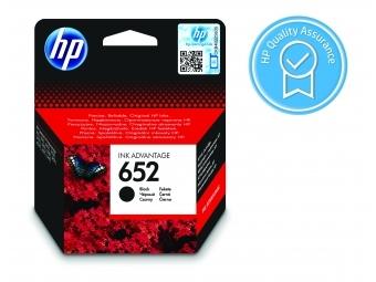 HP No.652 Atramentová kazeta Black (F6V25A)