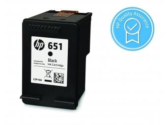 HP No.651 Atramentová kazeta Black (C2P10AE)