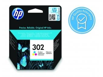 HP No.302 Atramentová kazeta Color (F6U65AE)