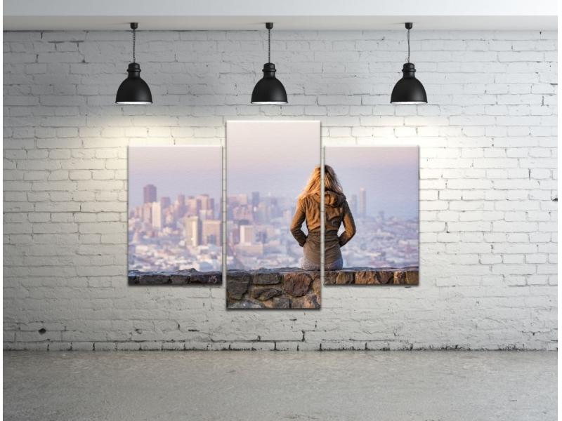 MULTI KLASIK Fotoobraz na plátne so skrytým rámom, ABA, 3-dielny