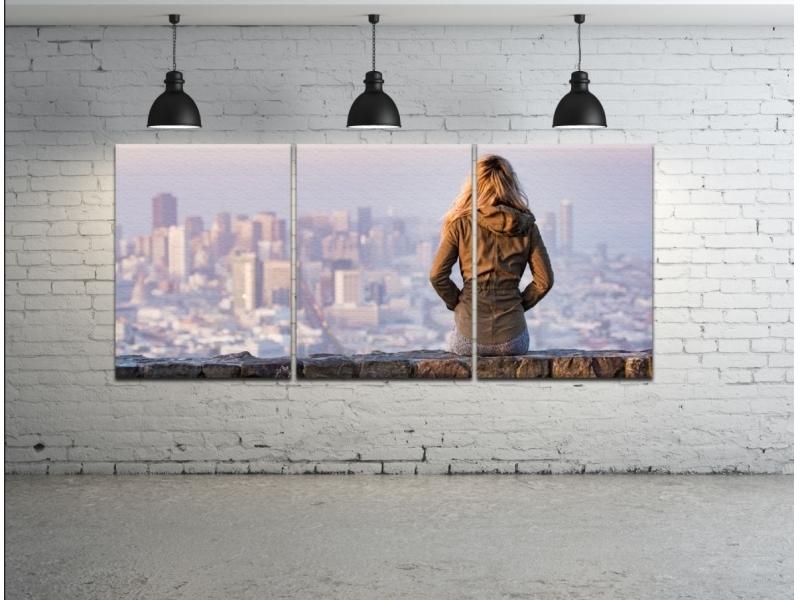 MULTI KLASIK Fotoobraz na plátne so skrytým rámom, AAA, 3-dielny