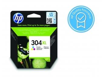 HP No.304XL Atramentová kazeta Color (N9K07AE)