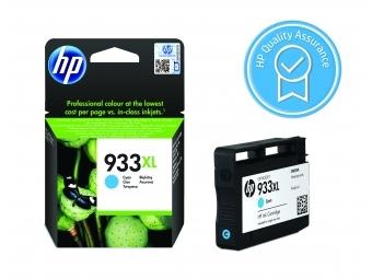 HP No.933XL Atramentová kazeta Cyan (CN054AE)