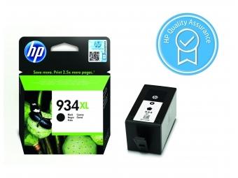 HP No.934XL Atramentová kazeta Black (C2P23AE)