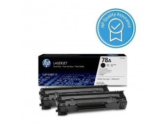 HP CE278AD Tonerová kazeta Black 78A, 2ks