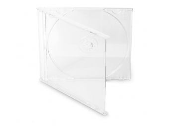 Obal na CD jewel box transparentný (27010) (bal=200ks)