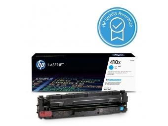 HP CF411X Tonerová kazeta Cyan 410X, HC