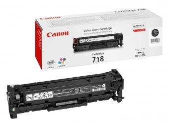 Canon 718Bk Tonerová kazeta Black