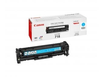 Canon 718C Tonerová kazeta Cyan