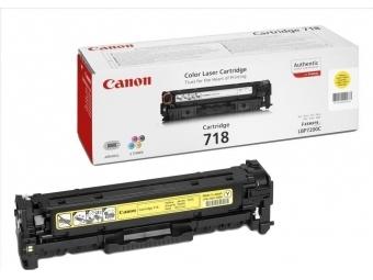 Canon 718Y Tonerová kazeta Yellow