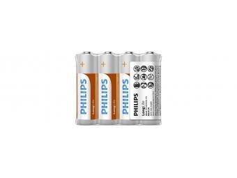 Philips zinkochloridová 1,5V AA (bal=4ks)