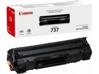 Canon 737 Bk Tonerová kazeta Black