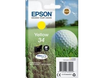 Epson T3464 Atramentová náplň Golf 34, Yellow