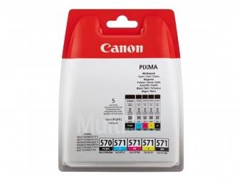 Canon PGI-570/CLI-571 Atramentová náplň Multipack, PGBk/C/M/Y/K
