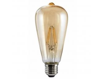 Xavax LED filament žiarovka, E27, 350 lm (nahrádza 32 W), dekoratívny tvar, teplá biela