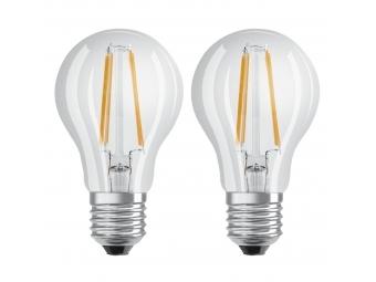 Xavax LED Filament žiarovka, E27, 806 lm (nahrádza 60 W), teplá biela, 2 ks v škatuľke