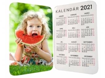Vreckový laminovaný foto kalendár (10 ks)