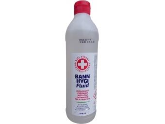 Bann Hygi Fluid roztok dezinfekčný na ruky a povrchy (bez rozprašovača),500ml