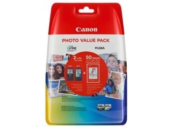Canon PG-540 XL/CL-541 XL Atramentová náplň multipack + GP-501 10x15cm 50 listov