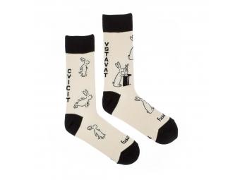 """Fusakle ponožky Bob a Bobek """"L"""" (43-46)"""