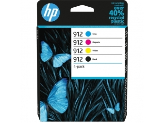 HP No.912 Atramentová kazeta Combopack C/M/Y/BK (6ZC74AE)