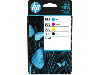 HP No.932/933 Atramentová kazeta Combopack C/M/Y/BK (6ZC71AE)