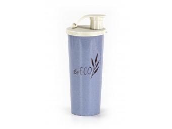 BeECO Shaker G21 Fitness 450 ml, modrý